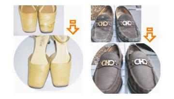 靴クリーニングの料金